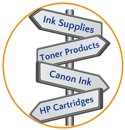 We offer cross reference tools that help you determine which ink and toner products will fit your needs.